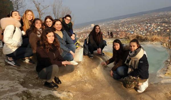 Le studentesse di 3' e 4' linguistico a Pjatigorsk (Russia)